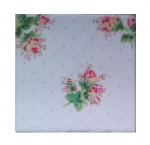 Ceramic Wall Tiles Made With Cath Kidston Rose Sprig White